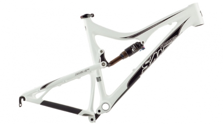 ## SANTA CRUZ 2013 Frame Blur LT Carbon 26'' + Rear Shock FOX CTD White Black
