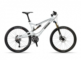 SANTA CRUZ 2013 Frame NICKEL 26'' + Rear Shock FOX Rp23 White