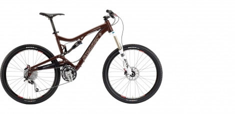 SANTA CRUZ 2013 Frame NICKEL 26'' + Rear Shock FOX R Brown
