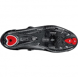Chaussures Route Sidi WIRE CARBON 2014 Blanc Rouge