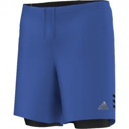 Short adidas performance rs dual short bleu xl