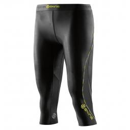 Cuissard de compression skins dnamic womens capri tights noir l