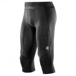 Cuissard de compression skins a400 mens 3 4 tights noir xl