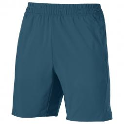 Short asics short woven 9in bleu l