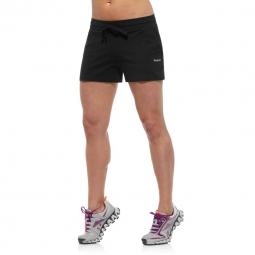 Short reebok elements jersey short femme noir l