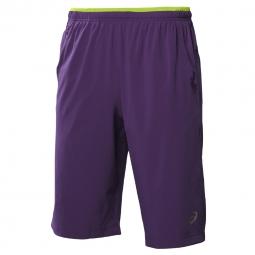 Short Asics Performance Long Woven Short Violet