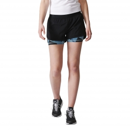 Short de training adidas performance short 2 in 1 noir xs