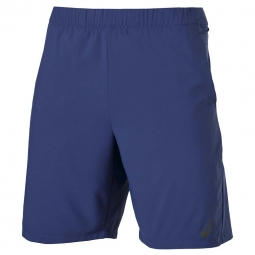Short de running asics fuzex 9in short bleu xl