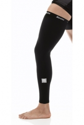 SANTINI Pair of leg warmers TOTUM Black