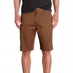 Short chino volcom frickin mod stretch shorts marron 29