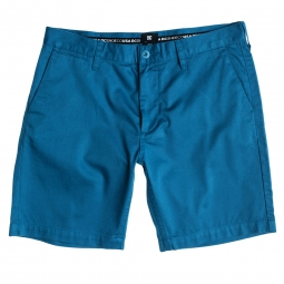 Short dc shoes dc worker slim short bleu 28