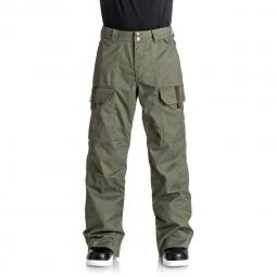 Pantalon de ski dc shoes code kaki s