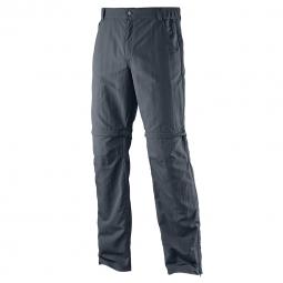 Pantalon leger de trekking salomon elemental pant m gris 40