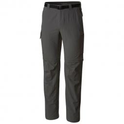 Pantalon convertible Columbia Silver Ridge II Convertible Pant Gris