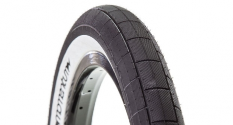 DEMOLITION MOMENTUM Tire Black White