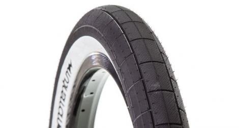DEMOLITION MOMENTUM Tyre Black White