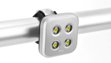 KNOG Lampe Arrière BLINDER 4 Standard - Argent