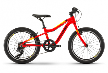 Haibike Kid Bike Seet Greedy 20'' Shimano Tourney 7s Red/Black/Yellow 2019