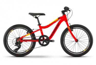 Haibike Seet Greedy Kids Bike 20'' Jaune / Rouge