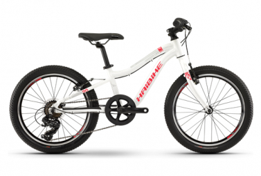 Haibike Kid Bike Seet Greedy 20'' Shimano Tourney 7s White / Red 2019