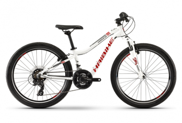 Haibike Kids MTB Hardtail Seet HardFour Life 1.0 Shimano Tourney 7s White / Red 2019