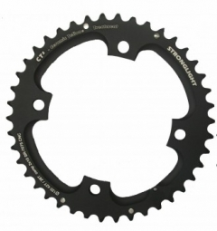 Stronglight plateau exterieur 42 dents 120mm sram 2x10v noir