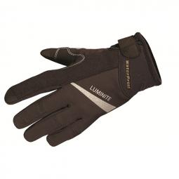 Endura paire de gants luminite noir s
