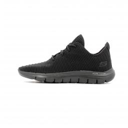 Chaussures de Cross Training Femme Skechers Flex Appeal 2.0 - Estates Noir