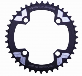 Vendetta racing couronne 4 points 104mm us noir 38