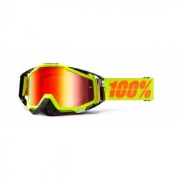 100% Masque RACECRAFT Neon Sign Ecran miroir Rouge