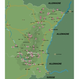 VTOPO VTT Vosges Alsace