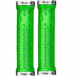 REVERSE Pair of Grips STAMP Green Silver