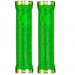 reverse paire de grips stamp vert