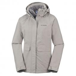 Veste a capuche columbia mystic pines interchange jacket s