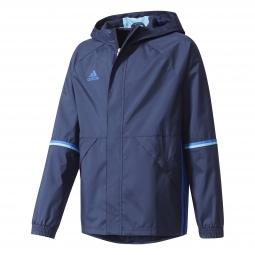 Veste coupe vent adidas performance condivo 16 rain jacket junior 9 10 ans