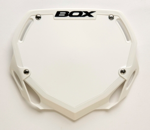 BOX Number Plate PHASE 1 Large White