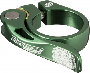 REVERSE Collier de selle LONG LIFE Diamètre 34.9 mm Vert