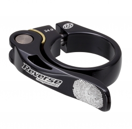 Reverse collier de selle long life diametre 34 9 mm noir