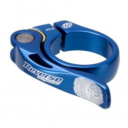 REVERSE Collier de selle LONG LIFE Diamètre 34.9 mm Bleu