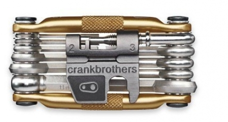 CRANKBROTHERS Multi-Outils M17 17 Fonctions Or