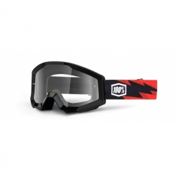 100 masque strata slash noir rouge ecran transparent