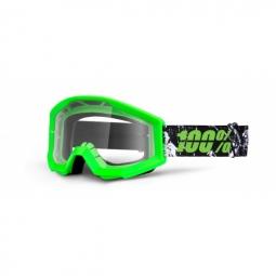 100 masque strata crafty vert ecran transparent adulte