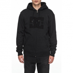 Sweat a capuche dc shoes star sherpa 3 xs