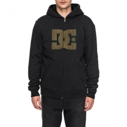 Sweat a capuche dc shoes star sherpa 3 boy 10 ans