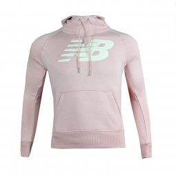 Sweat shirt a capuche new balance essentials full zip hoodie s