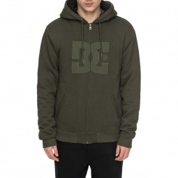 Sweat a capuche dc shoes star sherpa 3 l