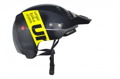 Casco Urge Endur-O-Matic 2014 Negro Amarillo