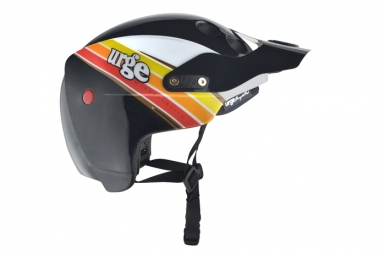 URGE 2014 Helmet ENDUR-O-MATIC Scrambler Black White