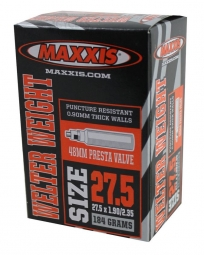 maxxis chambre a air welter weight 27 5 x 1 9 2 35 valve presta 48mm