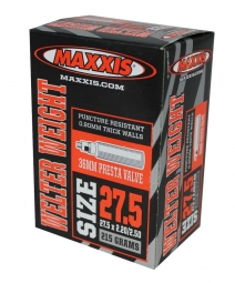 maxxis chambre a air welter weight 27 5 x 1 9 2 35 valve presta 36mm